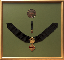Medal and sash
